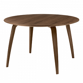 Стол Gubi Dining table round, орех